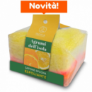 PEELING SOAP SPONGE- AGRUMS OF ISLAND 75GR