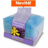 RELAXING SOAP SPONGE- YLANG YLANG AND LAVANDA 75 GR