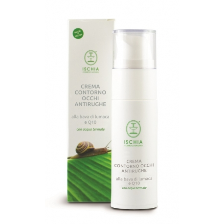 ANTI-WRINKLE EYE CREAM WITH SNAIL SLIME AND Q10-ALLA BAVA DI LUMACA E Q10